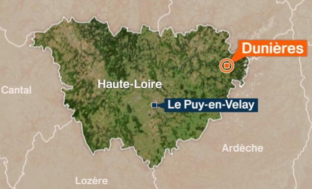 Situation Dunières